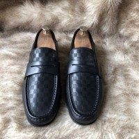 Shoes Loafer Louis Vuitton Damier new 95%